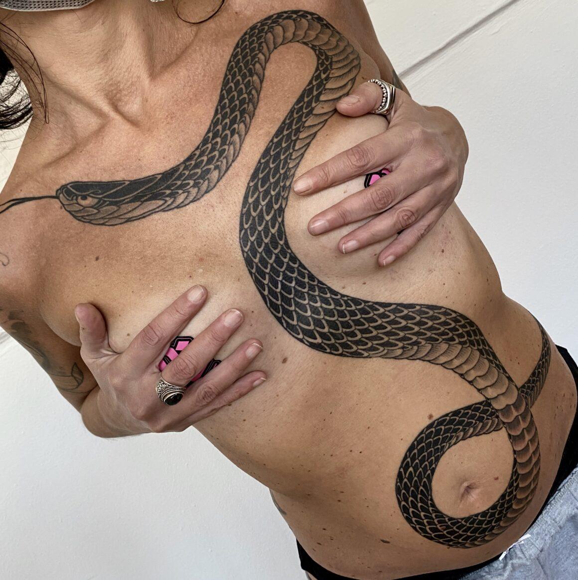 Emanuele Peren, Electric Wave Tattoo, Milano