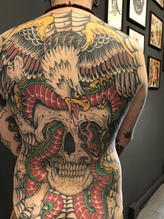 Mirko Colli, Seven Old Tattoo, Venturina (LI)