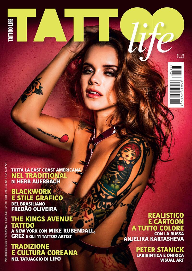 Tattoo Life Magazine Luglio Agosto 2021