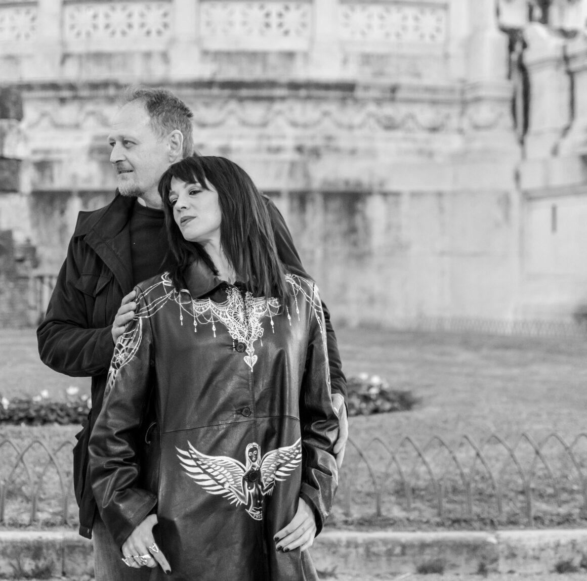 Asia Argento e Marco Manzo, foto di Artur Czerwinskyi