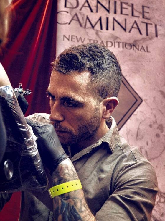 Daniele Caminati, Eternal City Tattoo, Roma