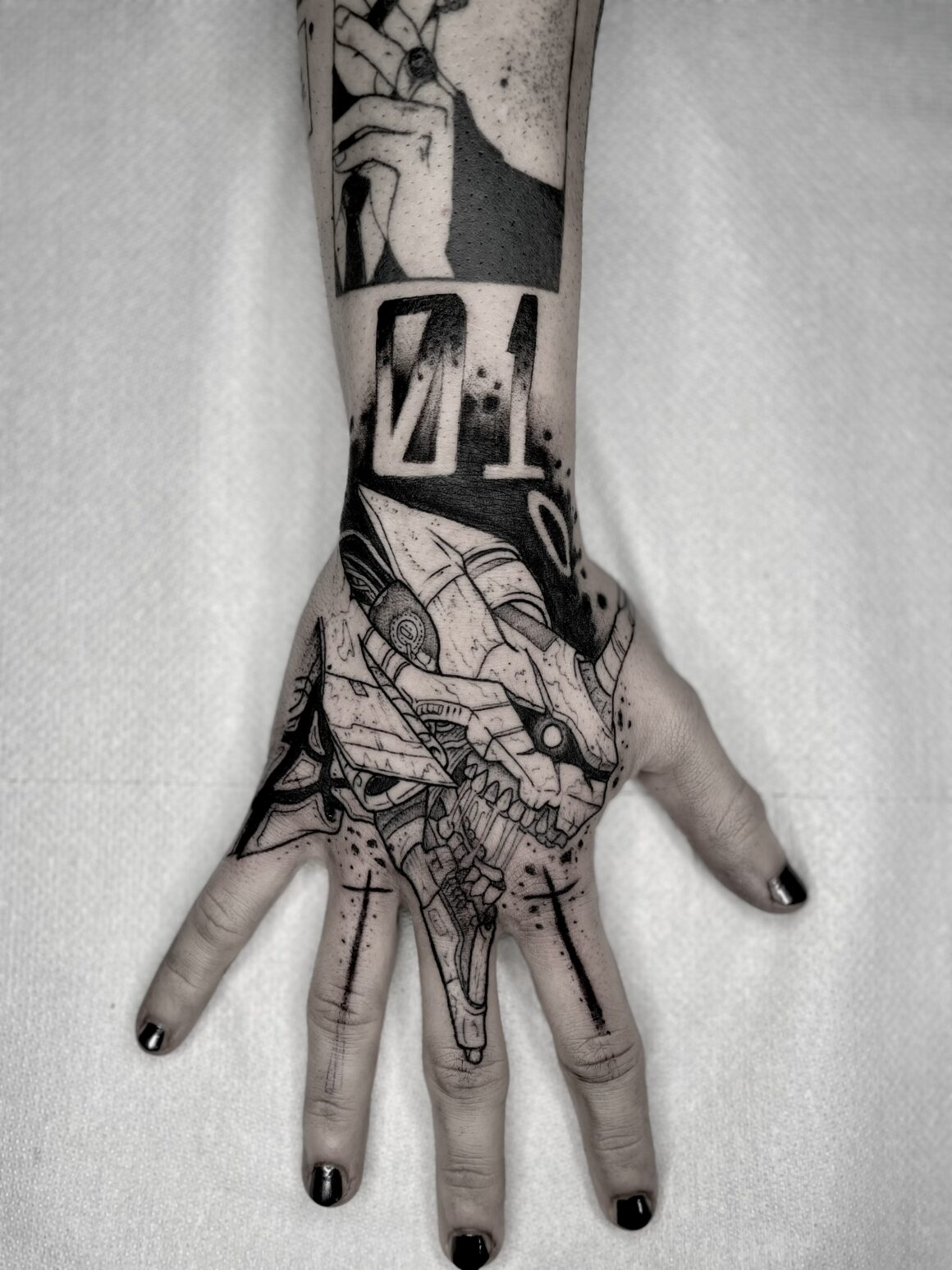 Tattoo by Luca Cospito, @lucky_luchino